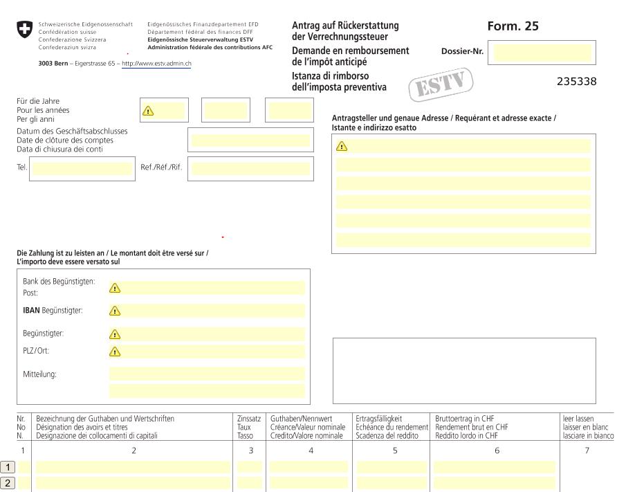 Bild VST Form25