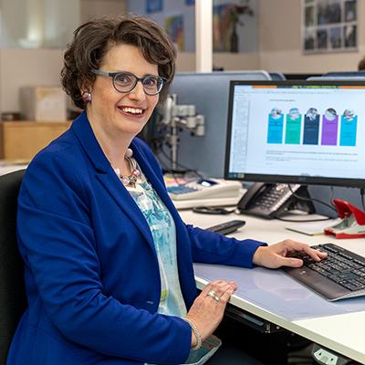 Brigitte Kaiser Treuhandexpertin und Fachfrau im Finanz- und Rechnungswesen mit eidg. Fachausweis