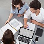 Beratung bei der Firmengründung, zum Businessplan sowie zum Budget, Planung und Controlling